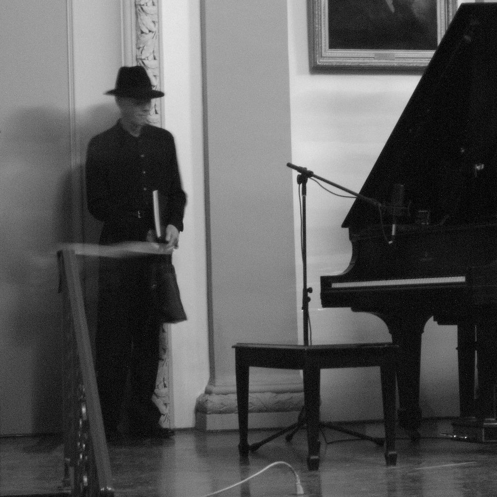 The Representative of Jandek live in Philadelphia, 2008 (Photo: Seth Tisue)