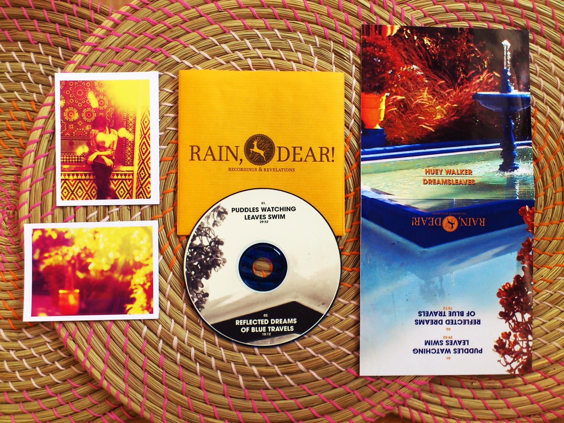 """Huey Walker - """"Dreamsleaves"""" (RDRR009)"""
