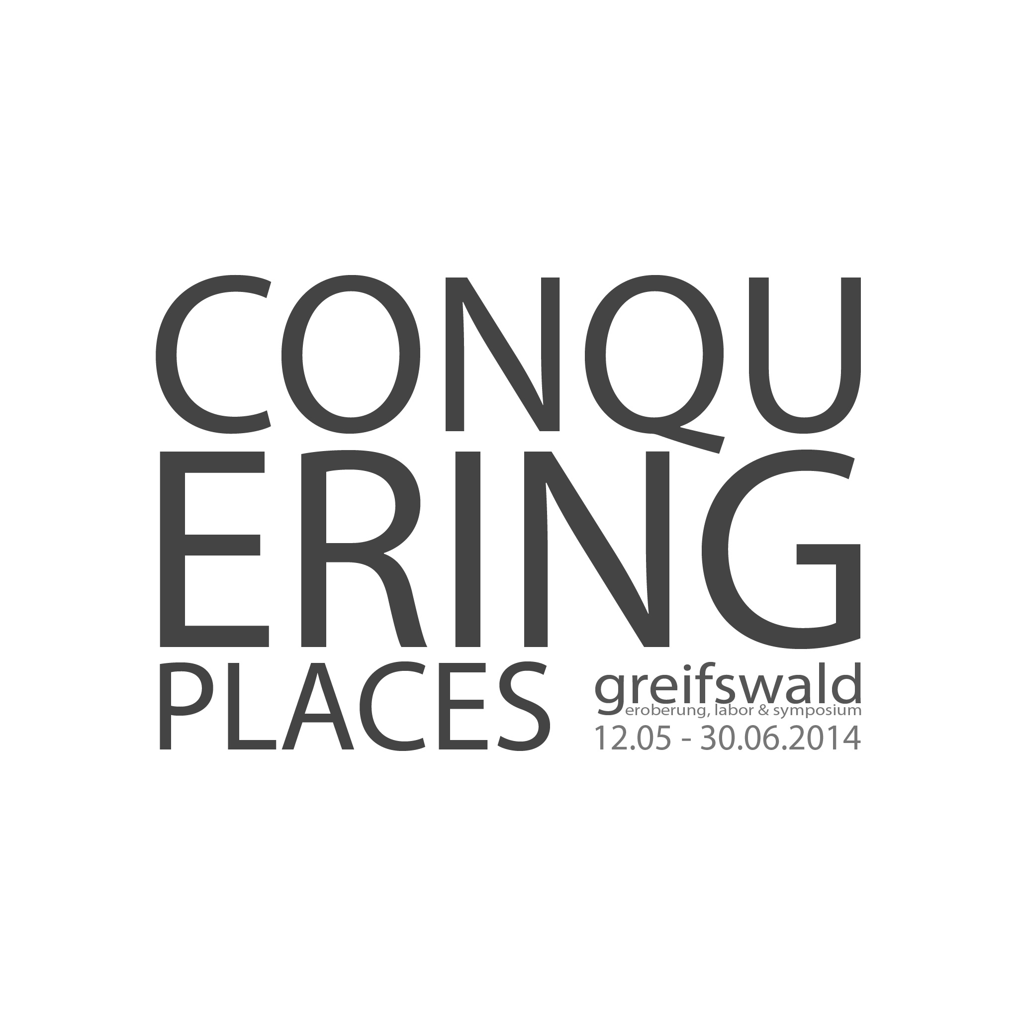 Conquering Places - Logo