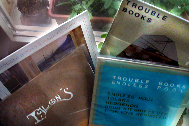 Vinyls von Trouble Books & Mark Mcguire, Talon's