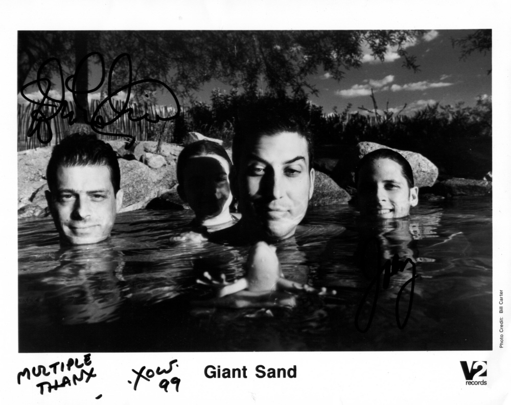 "Giant Sand - Promophoto zu ""Chore Of Enchantment"", 1999 (Quelle: http://sa-wa-ro.com)"
