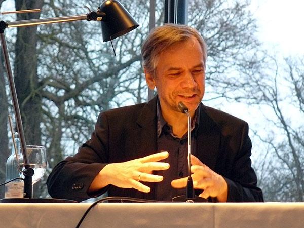 """Lutz Seiler las """"Kruso"""" im Pommerschen Landesmuseum (Photo: Martin Hiller)"""
