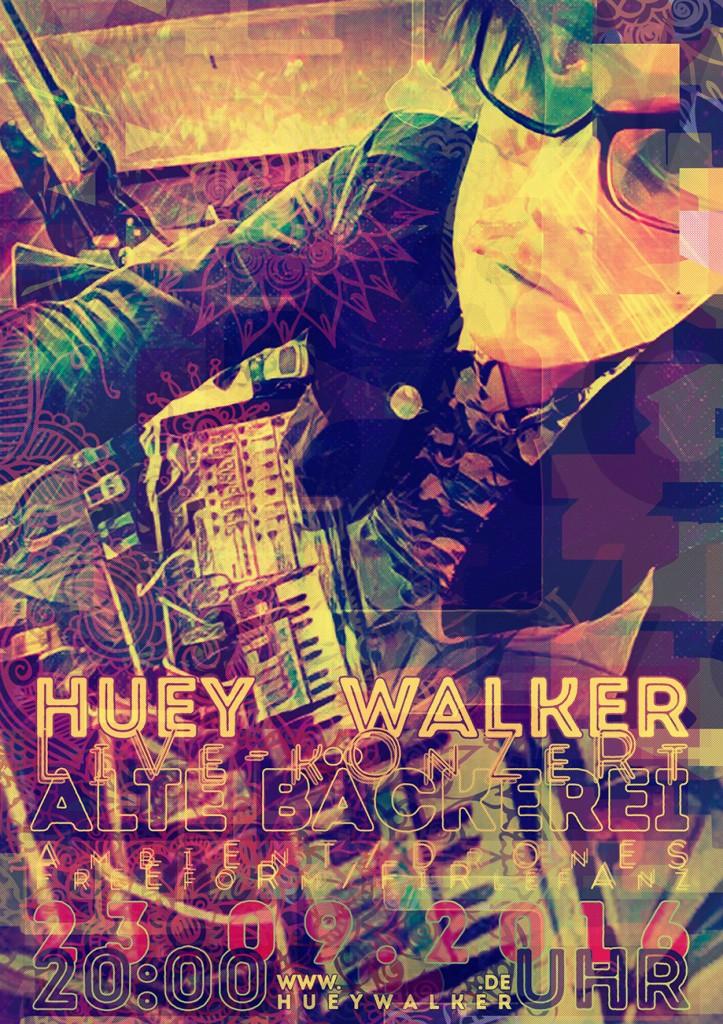 Huey Walker live in der Alten Bäckerei, Greifswald (23.09.2016)