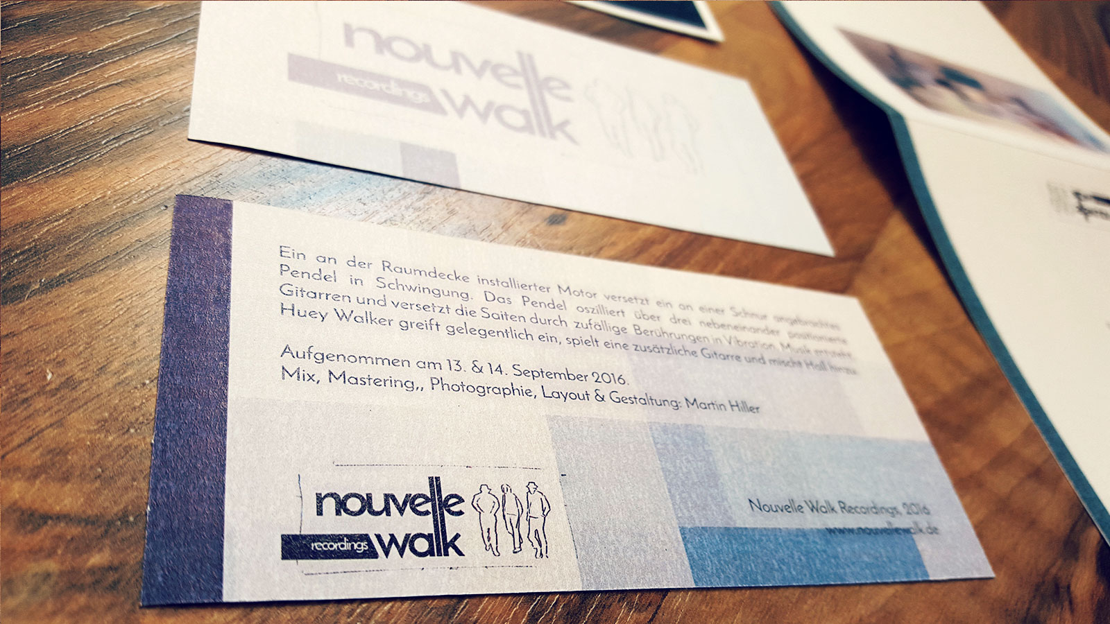 "Huey Walker -""Oscillations I"" (Nouvelle Walk, 2016) - Artwork"