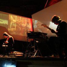 The Kanadagans aus Greifswald begleiteten die Lesung mit drei Sets musikalisch